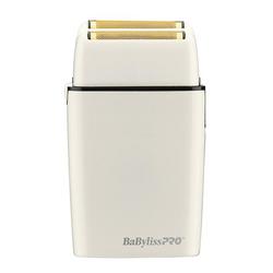 BaByliss Pro Cordless Metal Double Foil White Shaver
