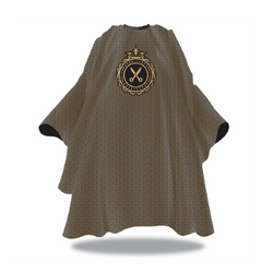 Black Ice Modern Barber Cape