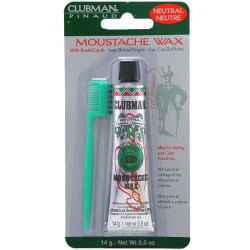 Clubman Moustache Wax - Neutral