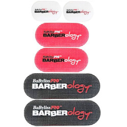 Babyliss Pro Barberology Hair Grippers - 6 piece