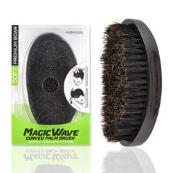 Black Ice Response Magic Wave Palm Brush (SOFT)