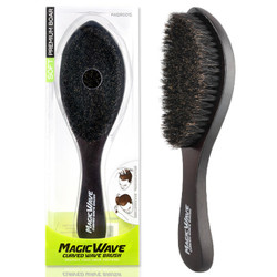Black Ice Response Magic Wave Brush w/Handle (SOFT)
