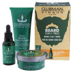 Clubman Pinaud Beard 3-IN-1 Trio Kit
