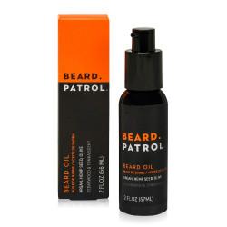 Beard Patrol Beard Oil - Softens, Smooths & Strengthens 2 oz