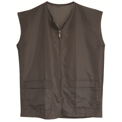 Black Ice Barber Mesh Vest Black Size Medium