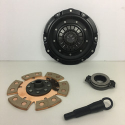 Kep stage 3 clutch kit with 6 PUCK clutch disc late model throw out bearing and vw spline alignment tool