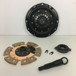 Kep stage 2 clutch kit with 6 puck clutch disc early model throw out bearing and vw spline alignment tool