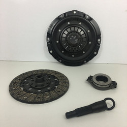 Kep stage 1 clutch kit with metal woven clutch disc late model throw out bearing and vw spline alignment tool