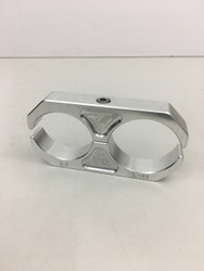 "Billet aluminum shock reservoir clamp 1.5"" x 2"""
