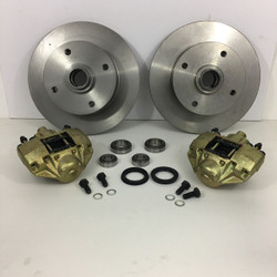 ball joint 4 lug disc brake kit with spindles