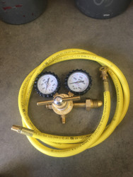 Regulator and Hose For Nitrogen Filling Station