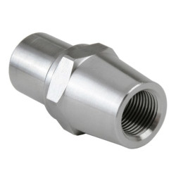 "TAPERED HEX BUNG 1"" TUBE .095 WALL TUBING 1/2-20 RH THREAD"