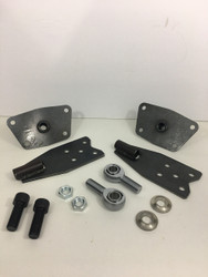 "IRS spring plate conversion kit for "" custom "" torsion housing"