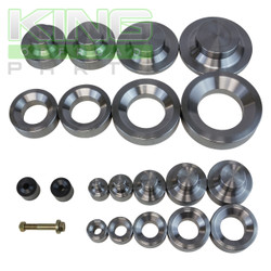 10 PIECE DIMPLE DIE SET