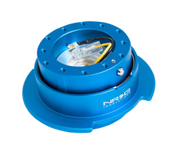 NRG 2.5 STEERING WHEEL QUICK RELEASE BLUE/ BLUE