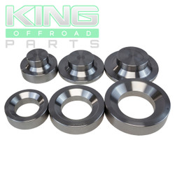 3 PIECE MEDIUM DIMPLE DIE SET
