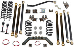 Jeep Wrangler 4.0 Inch Pro Series 3 Link Long Arm Lift Kit 1997-2006 TJ Clayton Off Road