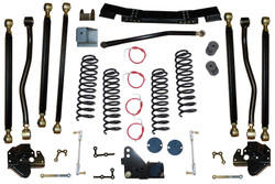 Jeep Wrangler 4.5 Inch Pro Series 3 Link Long Arm Lift Kit 2007-2011 JK Clayton Off Road
