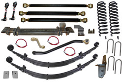 Jeep Cherokee 6.5 Inch Pro Series 3 Link Long Arm Lift Kit 84-01 XJ Clayton Off Road