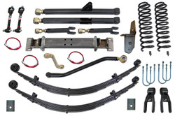 Jeep Cherokee 8.0 Inch Long Arm Lift Kit 84-01 XJ Clayton Off Road
