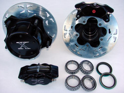 """JAMAR FRONT 2"""" HOLLOW DISC BRAKE KIT WITH 4 PISTON CALIPERS"""