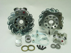 JAMAR FRONT COMBO LINK BRAKE KIT WITH 2 PISTON CALIPERS