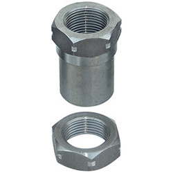 1 Inch 14 Threaded Bung With Jam Nut LH Thread Currie Enterprises