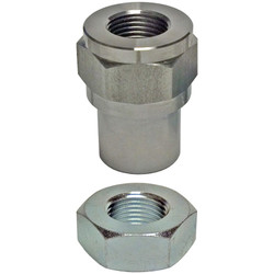 3/4 Inch 16 Threaded Bung With Jam Nut RH Thread Currie Enterprises