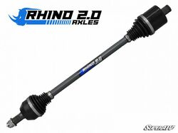 "Polaris RZR XP 1000 Front Extended Length + 3""Long Travel Heavy Duty Axles - Rhino 2.0"