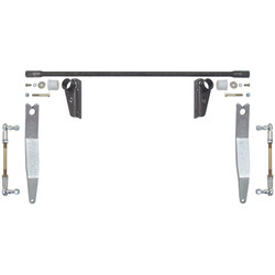 JK Antirock Front Sway Bar Kit W/Steel Frame Bracket And Aluminum Arms Currie Enterprises