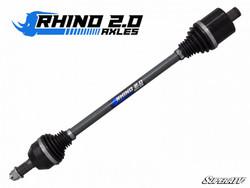 """Polaris RZR XP 1000 Rear Extended Length + 3""""Long Travel Heavy Duty Axles - Rhino 2.0"""