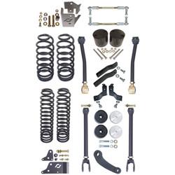 JK 4 Door Standard 4 Inch Off Road Suspension System For Up To 37 Inch Tires Currie Enterprises