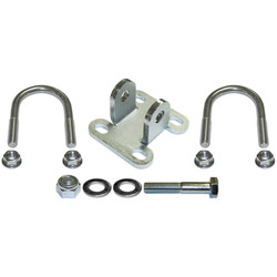 CURRECTLYNC Steering Stabilizer Shock Bracket Kit For 1 5/8 Inch Tube Tie Rod Currie Enterprises