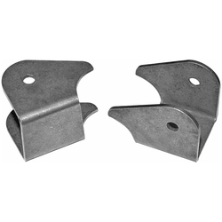 XJ/TJ Lower Control Arm Brackets Front HD Weld On Pair Currie Enterprises
