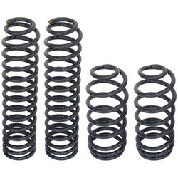 TJ/LJ Coil Springs 4 Inch Set Of 4 Currie Enterprises