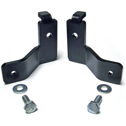 Wrangler JK Front Brake Line Relocation Bracket Kit Currie Enterprises