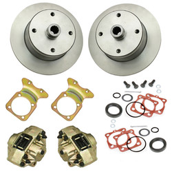 4 LUG VW REAR DISC BRAKE KIT LONG AXLE