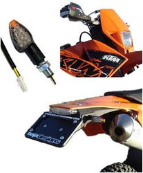 KTM Taillight/Turn Signals 07-On EXC LED Upgrade Baja Designs