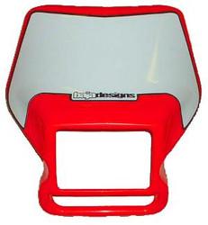 Motorcycle Headlight Shell 04 Red Baja Designs