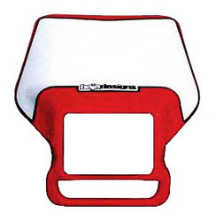 Motorcycle Headlight Shell Red Baja Designs