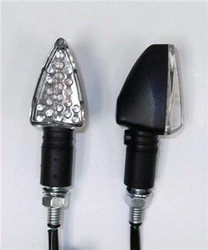 Motorcycle Turn Signal Mini Stalk LED Pair Baja Designs