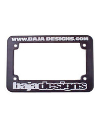 Motorcycle License Plate Frame Only Baja Designs