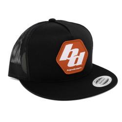 Baja Designs Flexfit Trucker Hat Black Baja Designs