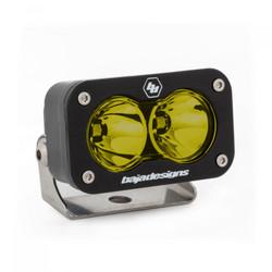 LED Work Light Amber Lens Work/Scene Pattern Each S2 Sport Baja Designs