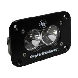LED Work Light Clear Lens Spot Pattern Flush Mount Each S2 Sport Baja Designs