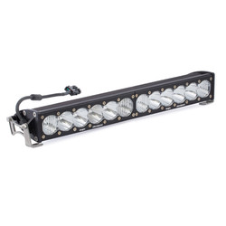 20 Inch LED Light Bar Single Straight Driving Combo Pattern OnX6 Baja Designs