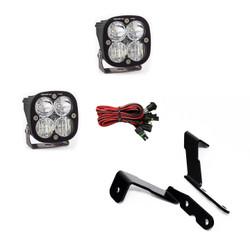 GM Silverado/Sierra (2007-2013) A-Pillar Kit Squadron Pro Lights Baja Designs