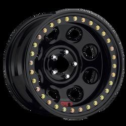 """RACELINE RT 81 Rock 8 wheels 5 on 4.5, 17 X 9.5"""" 3.5"""" backspace"""