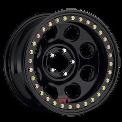 """RACELINE RT 81 Rock 8 wheels 5 on 5.5, 17 X 9.5"""" 3.5"""" backspace"""