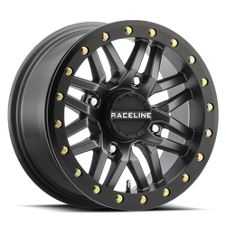 RACELINE A91-G RYNO GUNMETAL UTV BEADLOCK WHEEL 15X10 4X110 LUG PATTERN